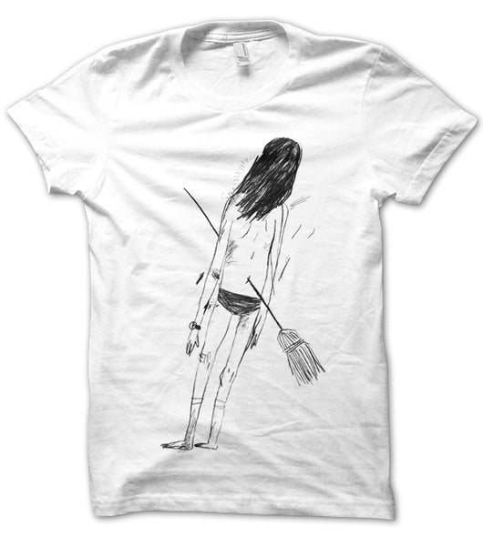 WITCH WHITE T-SHIRT