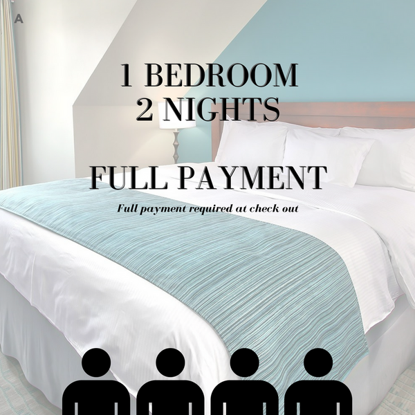 Carnival Ski Weekend [A] - 1 Bed Room Full Payment for two nights