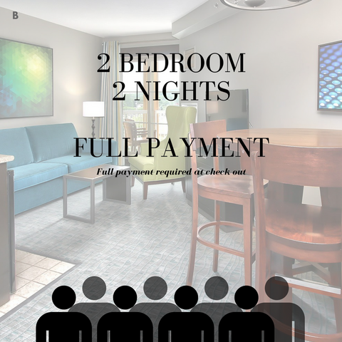 Carnival Ski Weekend [B] - 2 Bedroom Full Payment for two nights