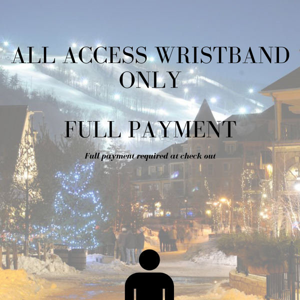 Carnival Ski Weekend - All Access Wristband Only (No Room Rate)