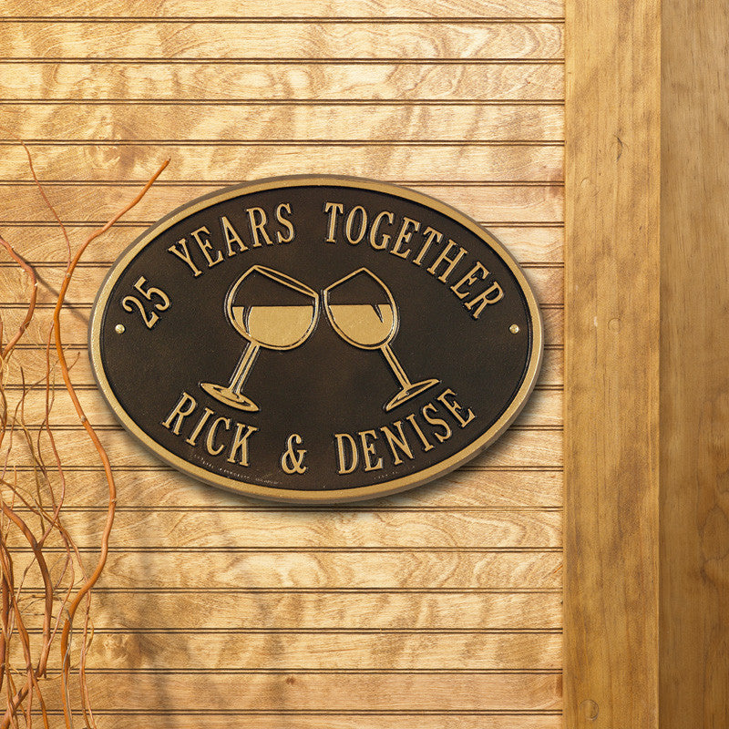 Wine Wall Plaque Outside The Box Home