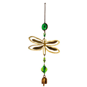 Double Trouble Dragonfly Nana Bell Chime