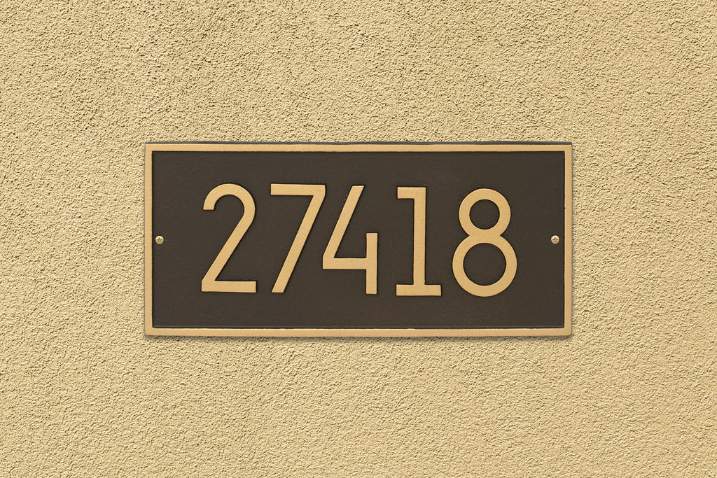 Modern Hartford Wall Plaque