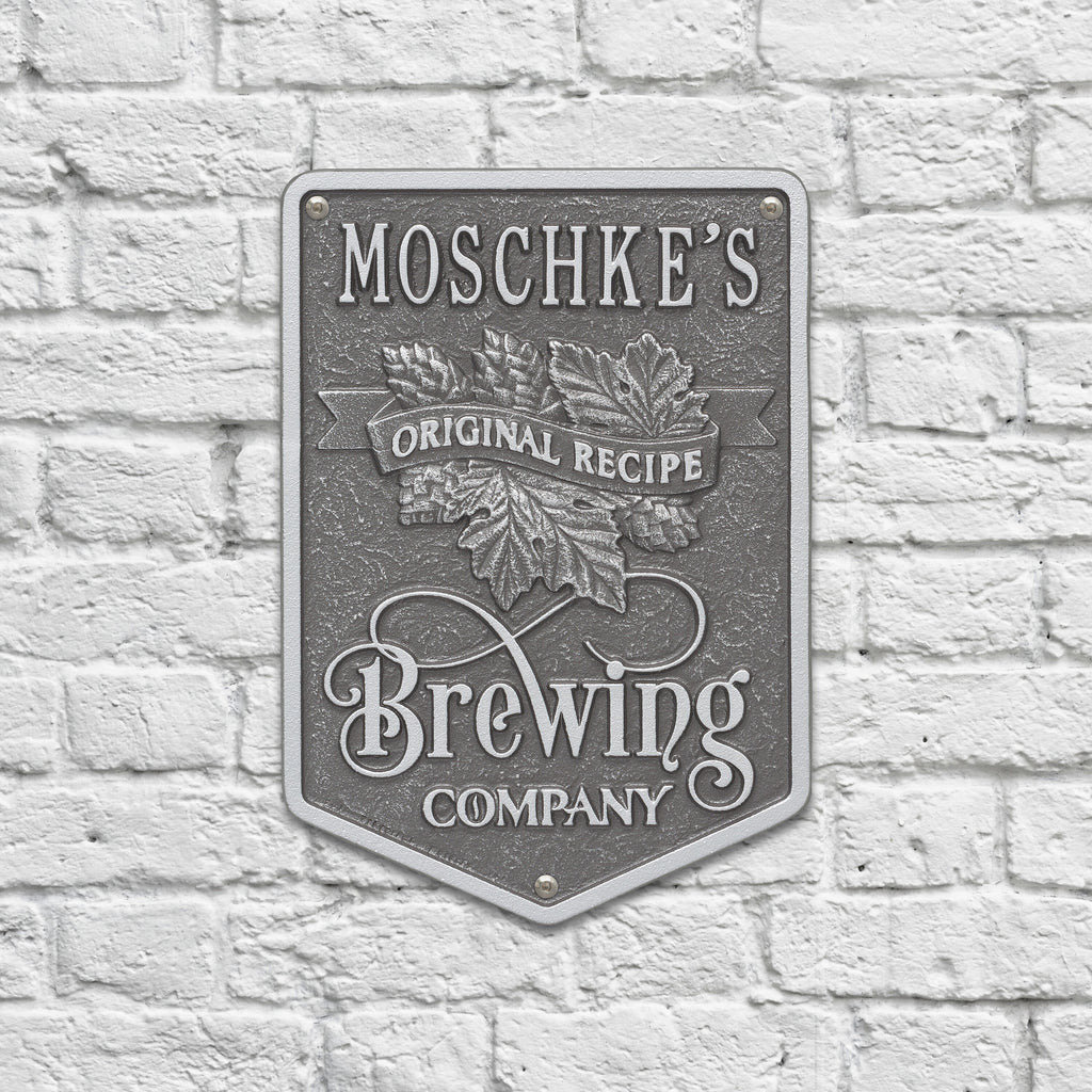 Original Recipe Brewing Company Beer Plaque