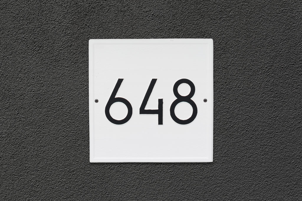 Modern Square Wall Plaque
