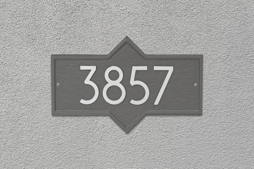 Modern Hampton Wall Plaque