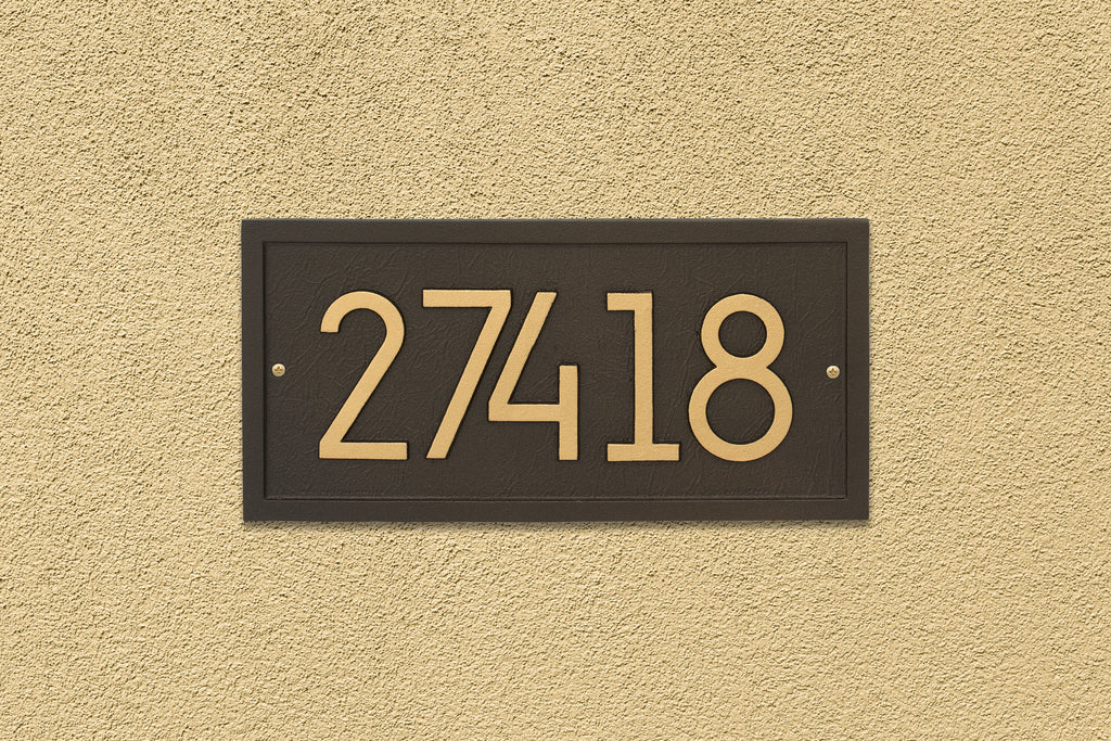 Modern Rectangle Wall Plaque