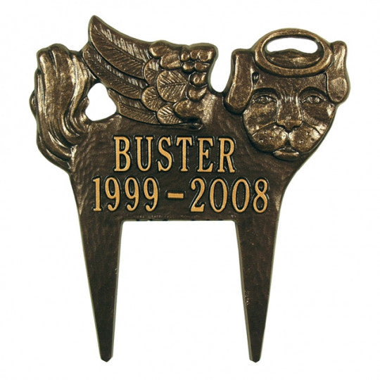 Dog Angel Pet Memorial Marker