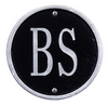 Monogram Wall Address Plaque (Petite Size)