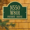 Wisconsin Special Wall Address Plaque