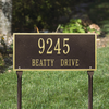Hartford Lawn Address Plaque (Standard Size)