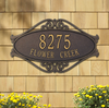 Hackley Fretwork Wall Address Plaque (Standard Size)