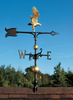 "30"" Full-Bodied Eagle Weathervane"