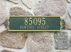 Shell Horizontal Wall Address Plaque (Standard Size) Whitehall ProductsOutside The Box Home & Garden Décor