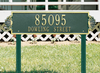 Shell Horizontal Lawn Address Plaque (Estate Size) Whitehall ProductsOutside The Box Home & Garden Décor