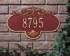 Rochelle Wall Address Plaque (Standard Size) Whitehall ProductsOutside The Box Home & Garden Décor