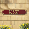 Windsor Horizontal Wall Address Plaque