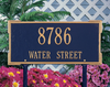 Roanoke Lawn Address Plaque (Standard Size) Whitehall ProductsOutside The Box Home & Garden Décor