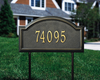 Providence Arch Lawn Address Plaque (Standard Size)