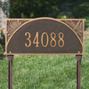 Dragonfly Lawn Address Plaque