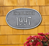 Date Established Wall Plaque