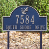 Anchor Arch Lawn Address Plaque