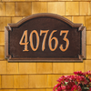 Williamsburg Wall Address Plaque (Estate Size)