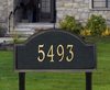 Providence Arch Lawn Address Plaque (Estate Size)
