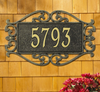 Lewis Fretwork Wall Address Plaque (Estate Size)