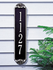 Shell Vertical Wall Address Plaque (Standard Size) Whitehall ProductsOutside The Box Home & Garden Décor