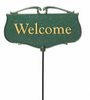 Welcome Garden Poem Sign