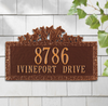 Ivy Wall Address Plaque (Standard Size)