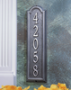 Manchester Vertical Wall Address Plaque (Standard Size)
