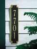 Windsor Vertical Wall Address Plaque