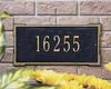 Roanoke Wall Address Plaque (Standard Size) Whitehall ProductsOutside The Box Home & Garden Décor