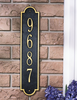 Richmond Vertical Wall Address Plaque (Standard Size) Whitehall ProductsOutside The Box Home & Garden Décor