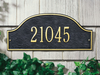 Admiral Wall Address Plaque (Standard Size)