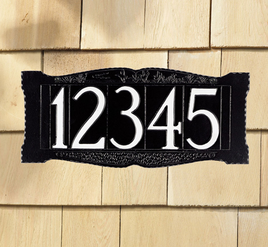 "4"" Number Wall Sign"