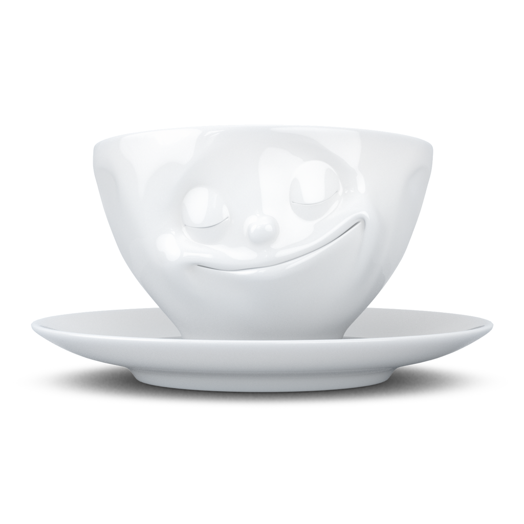 TASSEN Happy Coffee Cup & Saucer