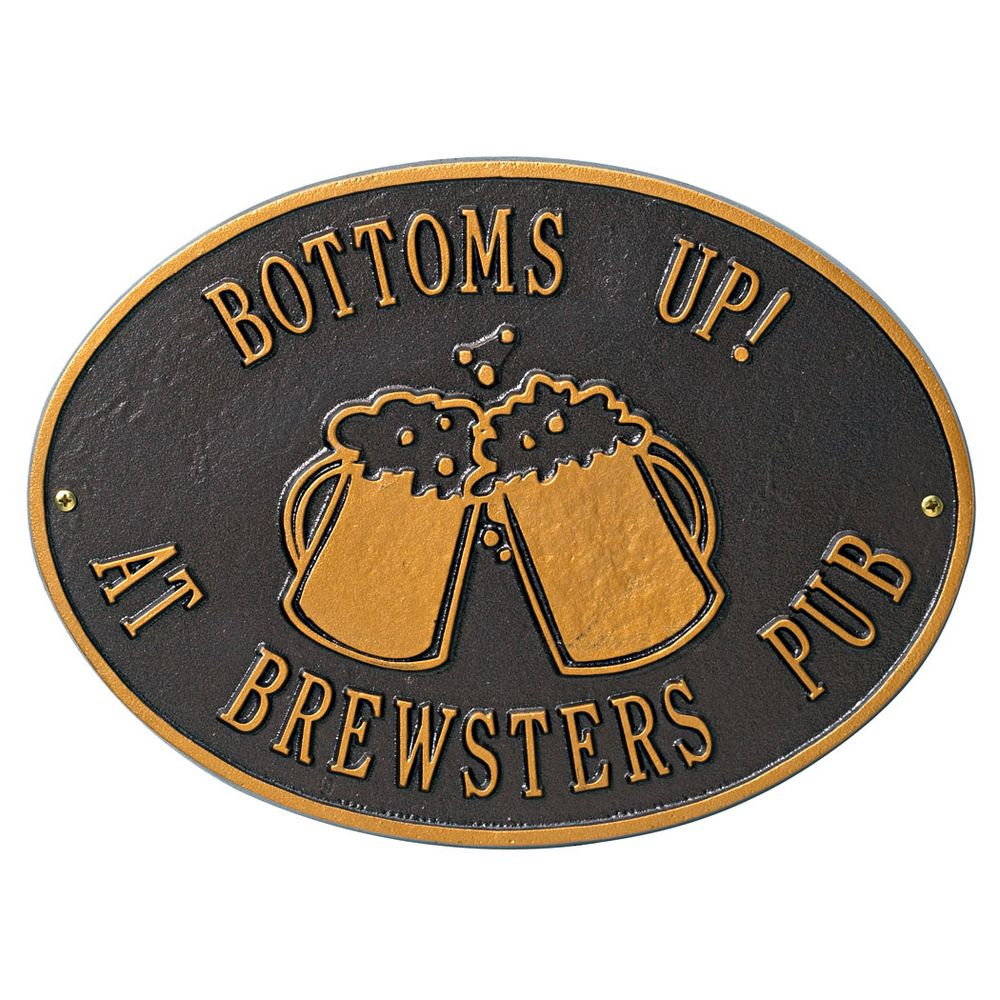 Beer Mugs Wall Plaque