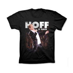 BLACK HOFF IS BACK TOUR WOMENS T-SHIRT