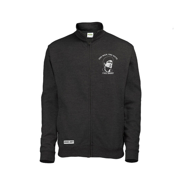BLACK THE MAN EMBROIDERED TRACK JACKET