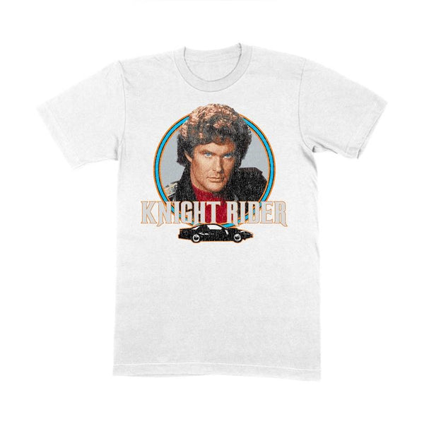 White Christmas Ltd White Knight Rider T-Shirt