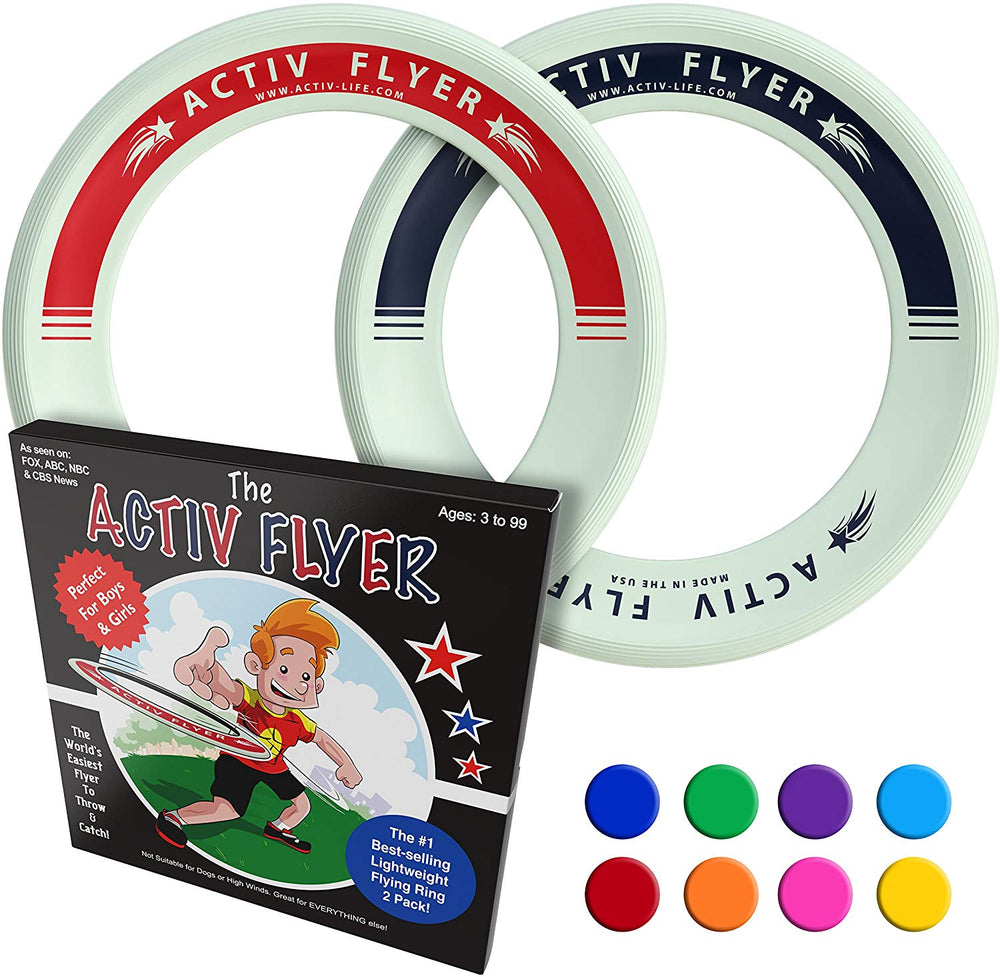 Activ Life Kid's Flying Rings (2 Pack)