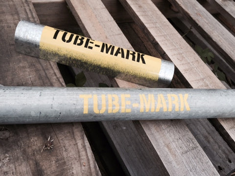 TUBE-MARK stencil - 2 off