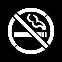 No Smoking Stencil