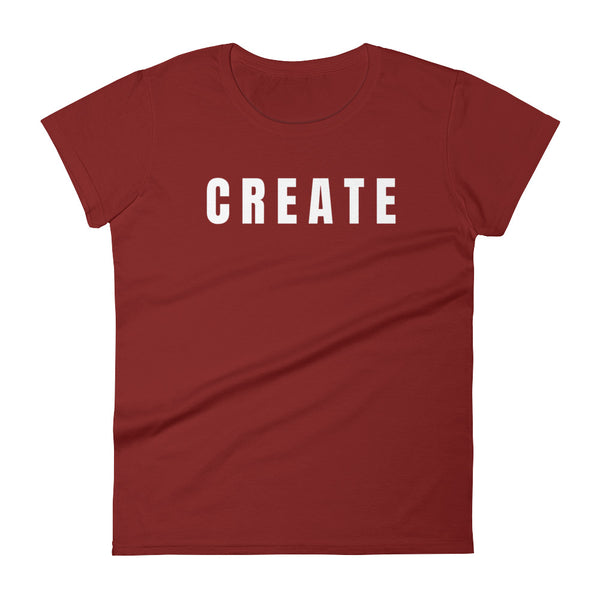 Women's Create Your Own Verb T-Shirt