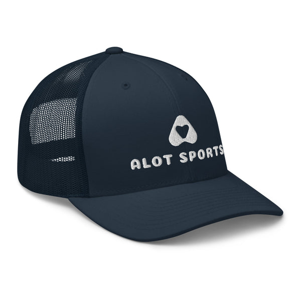 Alot Sports® + Logo Trucker Hat