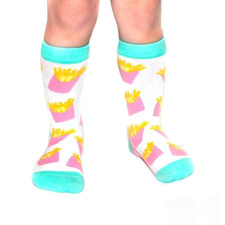 Fries Before Guys Toddler Socks