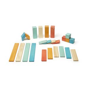 24 Piece Magnetic Block Set~ Sunset